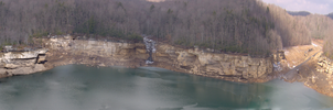 West Virginia Panorama by hydestock