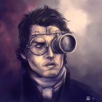 Ichabod Crane (Johnny Depp) - Sleepy Hollow by Professor-Irony