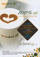 TEADOT flyer by GraphIcatZ