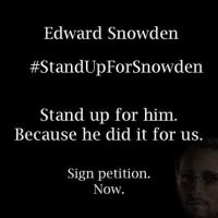 Link in Description - Stand Up For Snowden by xxWeAreAnonymousxx