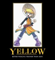 Yellow Demotivational by DarkKnight0001