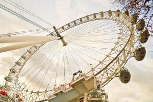 The London Eye by themuffincup