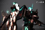 LOVE IS WAR x Gundam UC by Metalmiku2