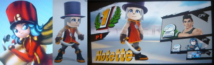 NOTETTE! JOINS THE BATTLE! by KambalPinoy