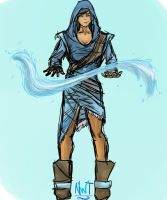 Fashionable Korra by northernwatertribe