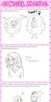 Fangirl Meme by chocolatetater-tot
