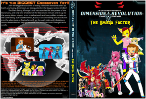 DimensionReviolution OmegaFactor DVD Cover by SuperDigiFlow