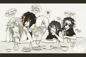 the Gazette - morning by KaZe-pOn