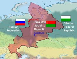 Trans-Ural Map by Qsec