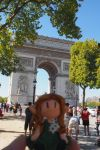 Amarie in Paris - Triumphal arch by Dreams-of-Arda