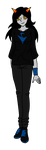 Cerulean Blood Fantroll Adoptable by graphicalCatharsis
