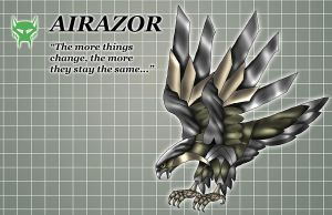 Airazor Beast Mode by Warriorking4ever