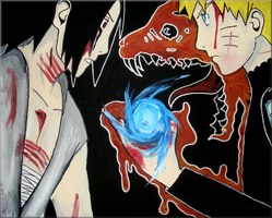 Naruto Sasuke : Your move by iareawesomeness