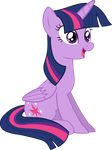 Pyrobug's Crappy Vectors: Twilight Sitting by Pyrobug0