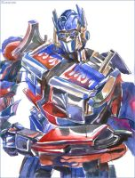 Optimus Prime by darefi