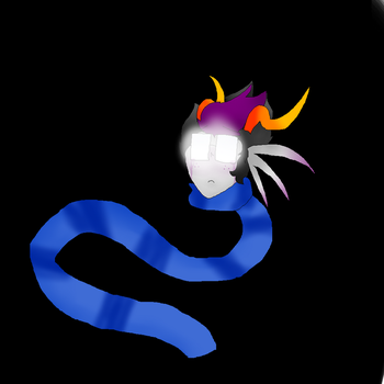 Another Eridan drawing. by sunny-dash