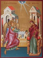 Annunciation of the Mother of God by logIcon