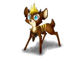 Gift::. Luis, The Striped Fawn by MarticusProductions