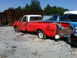 1971-72 C10 Farm Truck by USCGCitasca