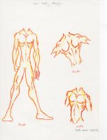 Old body design sketch by funkt-green