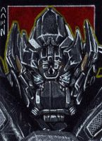 Ironhide - Sketch Card by J-Redd