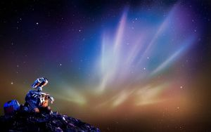 Wall-e Aurora by JordiCastellano