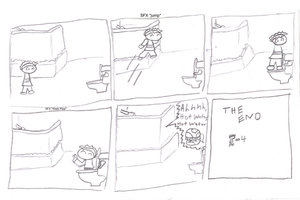 New comic by Rapthorn2ndForm