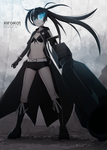 Black Rock Shooter by KiiroiKat