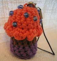 Cupcake Keychain by Grey-Wolf-86