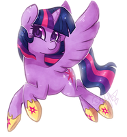 + Princess Twilight Sparkle + by Nayobe