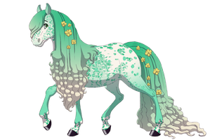 15 Point Horse Adopt ~ OPEN by PoundCake13