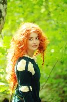 Merida - Brave 5 by StarbitCosplay