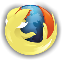 Fennekin Firefox Logo (With Icon)