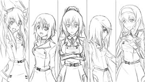 Infinite Stratos Rough by XxX-Envy-XxX