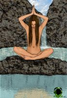 tablet meditation by thecrass1