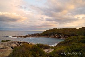 view to Little bay by Zlata-Petal