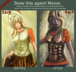 Draw this again - Annabeth chase by IRCSS