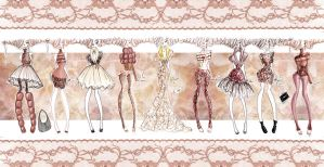 Love Lace Collection by PhieBiAlOffecY