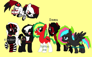 ipandacakes's...MLP Mane 6!!! by rustics