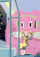 Monster in the bus by Songoanda