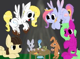 Pony Pet Poker Playdate by kalie0216