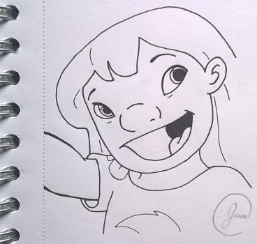 Lilo from Lilo and Stitch by HobbitFan14