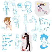 Dimly Lit: Character Designs by Aileen-Kailum