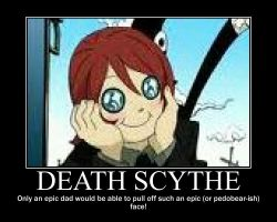 death scythe demovational poster by Syd112012