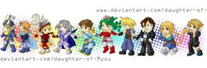 Little Heroes by daughter-of-Myou