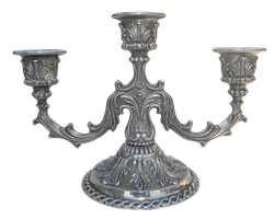 Old candlestick by MihaelaJoeDesigns