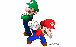 Mario and Luigi (Super Mario Series) by soteriosalles