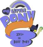 Commission: Zelo is best pony! by Topas-Art