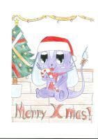 Christmas Tommie by NIGHTSandTAILSFAN