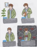 Turnabout Supernatural: Sam by triumph-forks